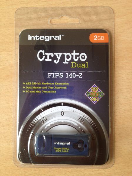 Encrypted Memory Stick 2GB FIPS 140-2