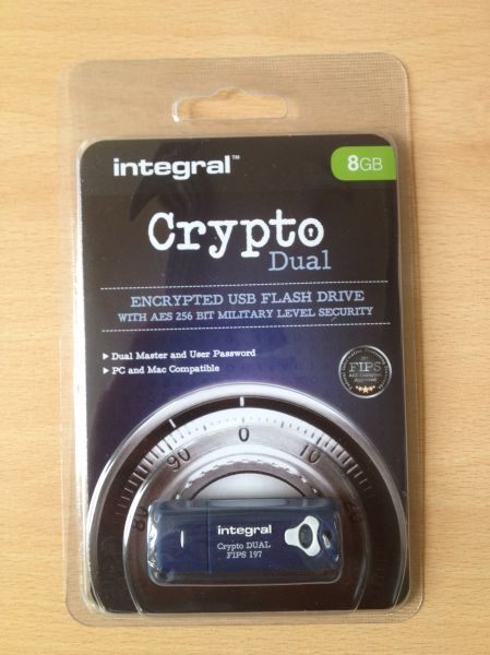 Encrypted Memory Stick 8GB FIPS 197