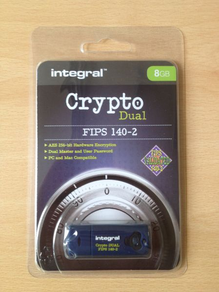 Encrypted Memory Stick 8GB FIPS 140-2