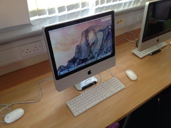Apple iMacs - 20 inch